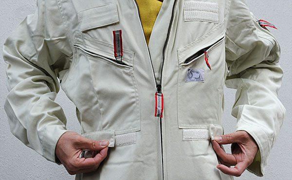 Fireproof flight suit (T002)-14
