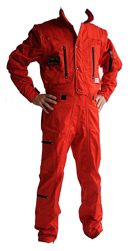 Tuta da volo Mazzucchi colore Rosso T001