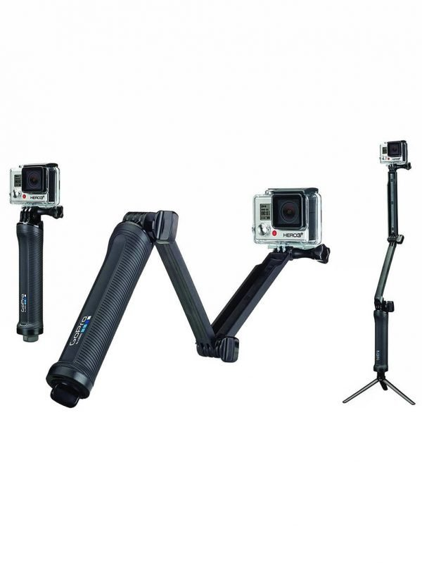 GoPro 3-Way Treppiede, Maniglia e Camera Arm-0