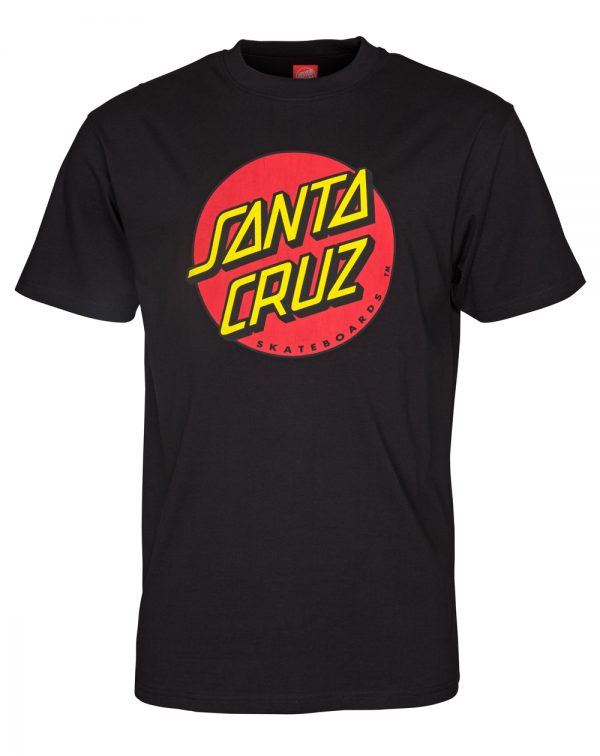 santa-cruz-classic-dot-t-shirt-uomo-black