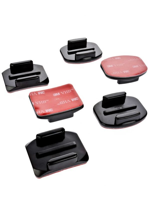 GOPRO CAM FLAT + CURVED ADHESIVE MOUNTS-0