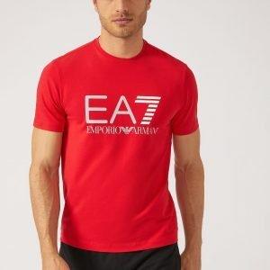 EA7 | T-Shirt In Jersey Di Cotone Stretch-0