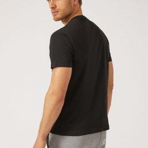 EA7 | T-Shirt Con Logo A Contrasto-2253
