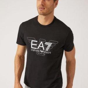EA7 | T-Shirt Con Logo A Contrasto-0