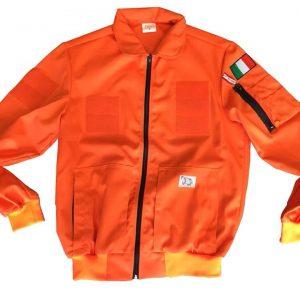 PILOT JACKET COTONE ARANCIO (P003)-2197