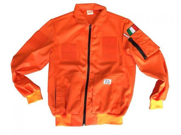 PILOT JACKET COTONE ARANCIO (P003)-2205