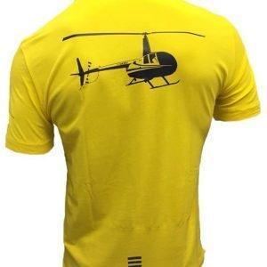 EA7|polo elicottero | R44 | Giallo-0