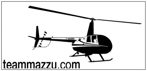 EA7|polo elicottero | R44 | Giallo-2213