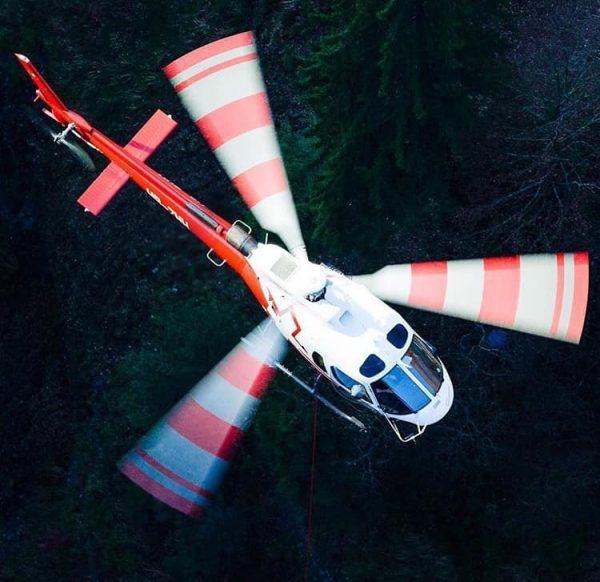 Tazza elicottero b2 350 colore verde .-2606