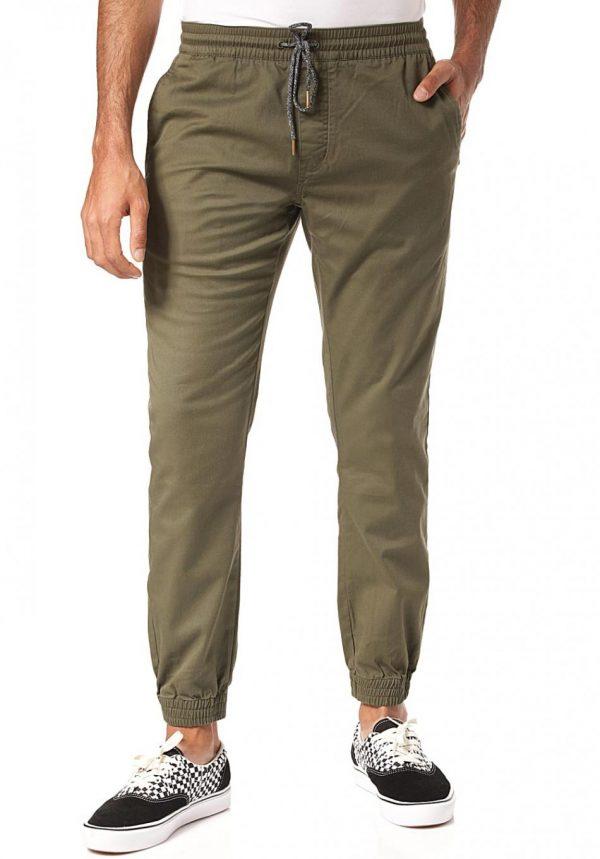 chino-uomo-volcom-frickin-modern-tap-pantaloni-chinos-verde